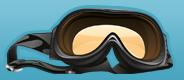 Snowboardbrille Logo