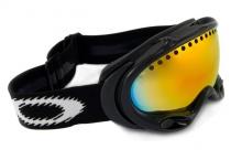 Oakley A-Frame Schwarz Snowboardbrille