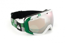 Quiksilver Q2 Gruen Snowboardbrille